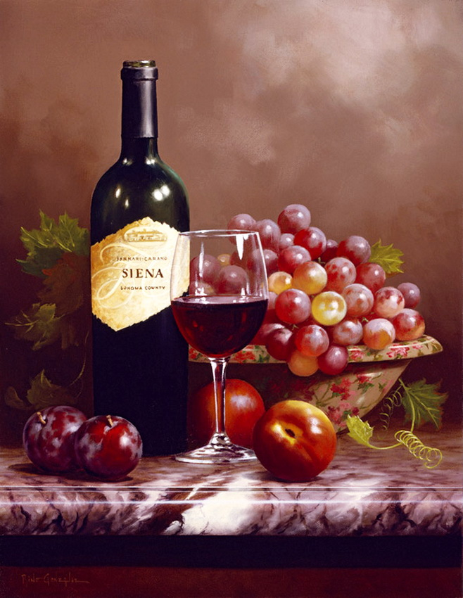 Открытки бокалы вина, мая