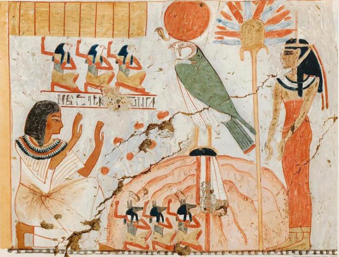 Древний Египет. Росписи из гробницы писца Нахта, Фивы. Новое царство, конец XV века до н.э.
